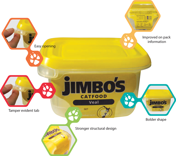 Jimbo's New Packaging